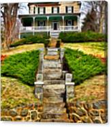 Ellicott City House Canvas Print