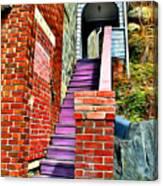 Ellicott City Steps Canvas Print