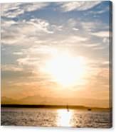 Elliott Bay Sunset Canvas Print