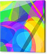 Ellipses 10 Canvas Print