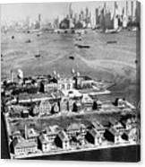 Ellis Island, 1933 Canvas Print