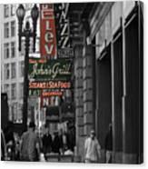 Ellis Street, San Francisco Canvas Print