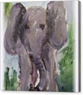 Elly Phant Canvas Print