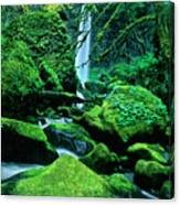 Elowah Falls 4 Columbia River Gorge National Scenic Area Oregon Canvas Print