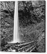Elowah Falls Canvas Print