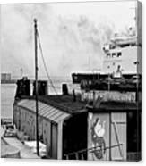 Elsinore Port Denmark Canvas Print