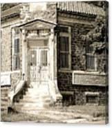 Elverson National Bank Canvas Print