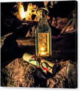 Elves Lantern Canvas Print