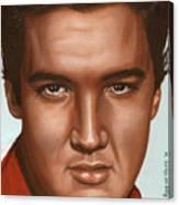 Elvis 24 1958 Canvas Print