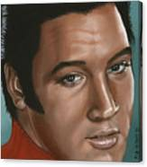 Elvis 24 1968 Canvas Print
