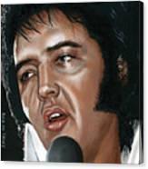Elvis 24 1975 Canvas Print