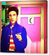 Elvis Has Left The House 20151225 Square Canvas Print