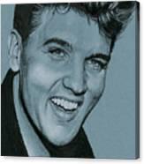 Elvis Is Back Canvas Print