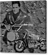 Elvis Canvas Print
