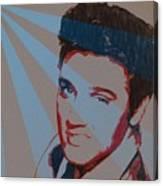 Elvis Pop Art Poster Canvas Print