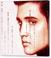 Elvis Preslely Canvas Print