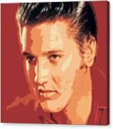 Elvis Presley - The King Canvas Print