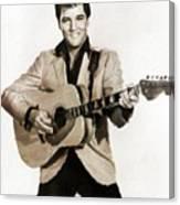 Elvis Presley By Mb Canvas Print