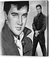 Elvis Roustabout Canvas Print