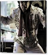 Elvis....sort Of Canvas Print