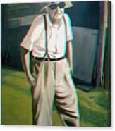Elwood - 2d-3d Anaglyph Conversion Canvas Print