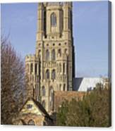 Ely Cathedral West Tower Canvas Print