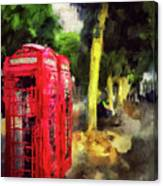 Embankment Canvas Print