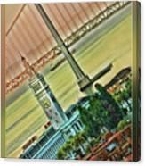 Embarcadero Horizon Canvas Print