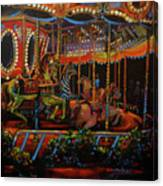 Embellished Carousel Canvas Print