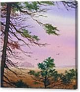 Embrace Of Dawn Canvas Print