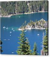 Emerald Bay Canvas Print