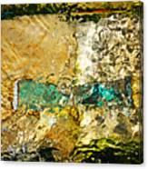 Emerald Bow Canvas Print