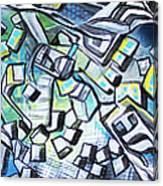 Emerald Chasms Canvas Print