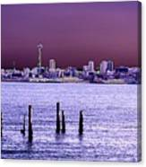 Emerald City Skyline Canvas Print