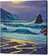Emerald Cove Canvas Print