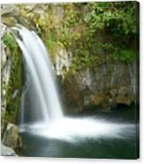 Emerald Falls Canvas Print