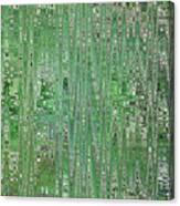 Emerald Green - Abstract Art Canvas Print