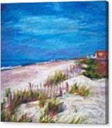 Emerald Isle Dunes Canvas Print