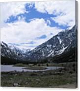 Emerald Lake Area Canvas Print