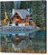 Emerald Lake Cilantro Canvas Print
