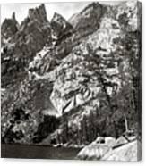 Emerald Lake Colorado Canvas Print