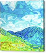 Emerald Moments Canvas Print