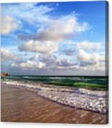 Emerald Seas Canvas Print