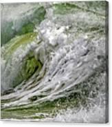Emerald Storm Canvas Print