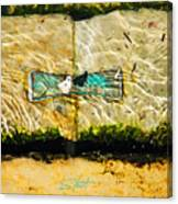 Emerald Tide Canvas Print