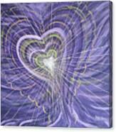 Emerging Heart Canvas Print