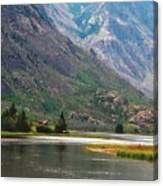 Emerging Mountains Canvas Print