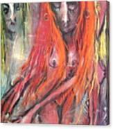 Emerging Reminders In Swamp Vapor Canvas Print