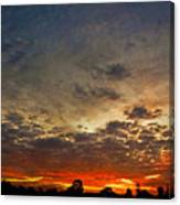 Emerging Sunset Canvas Print