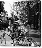 Emett: Lunacycle, 1970 Canvas Print